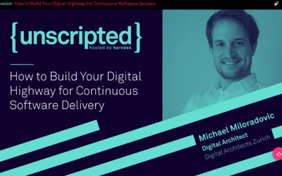Unscripted Conference (hosted by Harness): we were there to talk about the Digital Highway for Continuous Software Delivery!